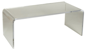Dixie Stark Collection Acrylic Coffee Table (Bent)