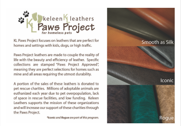 Keleen Leathers paws Project
