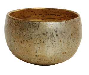 Benjamin Burts Bowl – Silver with Gold leaf finish