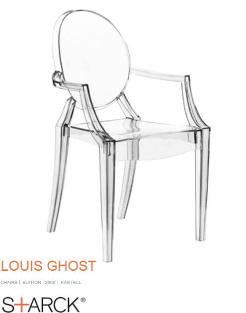 Phillipe Starcke Ghost Chair